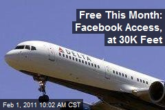 Free This Month: Facebook Access, at 30K Feet