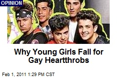Why Young Girls Fall for Gay Heartthrobs