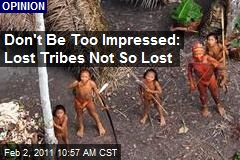Don't Be Too Impressed: Lost Tribes Not So Lost