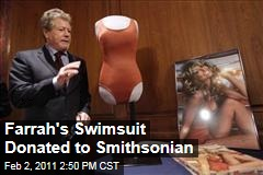 Farrah's Swimsuit Donated to Smithsonian