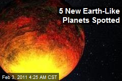 5 New 'Earth Like' Planets Spotted
