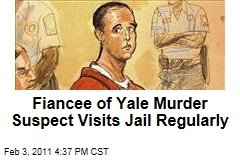 Fiancee of Yale Murder Suspect Visits Jail Regularly