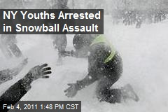 NY Youths Arrested in Snowball Assault