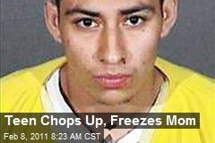 Teen Chops Up, Freezes Mom
