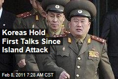 Koreas Hold First Talks Since Island Attack