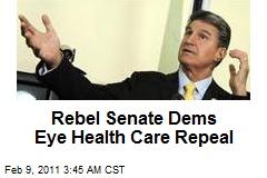 Rebel Senate Dems Eye Health Care Repeal