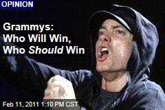 Grammys: Who Will Win, Who Should Win