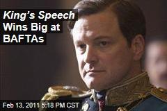 King's Speech Wins Big at BAFTAs
