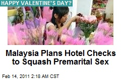 Malay Muslims Crack Down on Valentine's Day