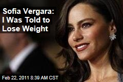 Sofia Vergara: I Was Once Told to Lose Weight, Says 'Modern Family' Star