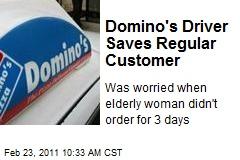 Domino's Driver Saves Regular Customer