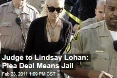Lindsay Lohan Told She'll Go to Jail If She Accepts Plea Deal in Necklace Case