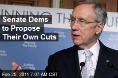 Senate Dems to Propose Their Own Cuts