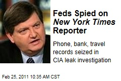 New York Times' James Risen Spied On By FBI