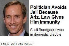 Politician Avoids Jail Because Ariz. Law Gives Him Immunity