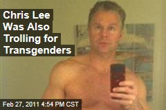 Craigslist Congressman Chris Lee Also Was Looking for Transgenders, Cross-Dressers