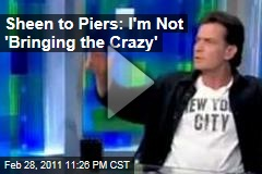 Charlie Sheen on Piers Morgan: 'I'm On a Quest for Absolute Victory'