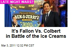 Jimmy Fallon Launches His Own Ben & Jerry's Ice Cream Flavor, 'Late Night Snack'
