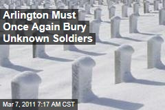 At Arlington National Cemetery, Multiple Unknown Soldiers to Bury After Mass Grave Discovery