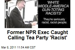 James O'Keefe Hits NPR with Sting Video: Tea Party 'Seriously Racist,' Says Ron Schiller