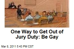 One Way to Get Out of Jury Duty: Be Gay, as Jonathan D. Lovitz Learned