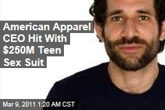 American Apparel CEO Dov Charney Hit With $250M Sexual Harassment Suit