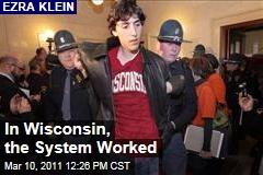 Ezra Klein: In Wisconsin, the System Worked
