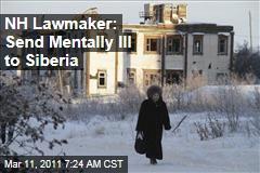 New Hampshire Lawmaker Martin Harty: Send Mentally Ill to Siberia