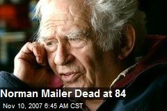 Norman Mailer Dead at 84