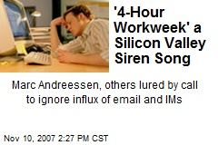 '4-Hour Workweek' a Silicon Valley Siren Song