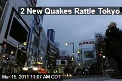Japan Earthquake: Two Large Aftershocks Rattle Tokyo