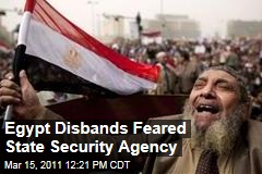 Egypt Dissolves Hated Security Agency as Hillary Clinton Arrives for First Visit After Fall of Mubarak