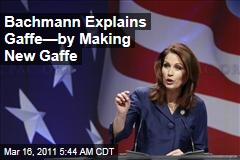 Michele Bachmann Miscounts Number of Media Members