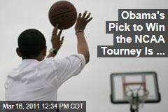 President Obama Picks Kansas to Win the NCAA Tournament