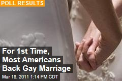 Gay Marriage Poll: More Than Half of Americans Support It for First Time in ABC/Washington Post Poll