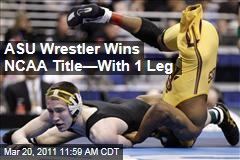 Anthony Robles, ASU Wrestler With One Leg, Wins NCAA Title