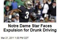 Notre Dame Receiver Michael Floyd Faces Expulsion for Drunk Driving