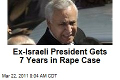 Ex-Israeli President Moshe Katsav Sentenced to 7 Years in Prison in Rape Case