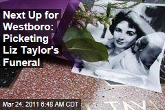Westboro Baptist Church Vows to Picket Elizabeth Taylor Funeral