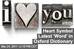 Heart Symbol, 'Muffin Top,' 'OMG' and More Added to Oxford English Dictionary | OED