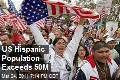 US Hispanic Population Exceeds 50M