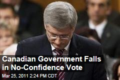 Canada Vote: Stephen Harper and Conservative Party Lose No-Confidence Vote, Face New Election