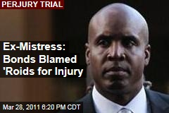 Barry Bonds Mistress Kimberly Bell Testifies That He Blamed Steroid Use for Elbow Injury