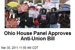 Ohio House Panel Approves Anti-Union Bill