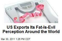 US Exports Fat-Is-Evil Perception Around the World