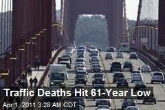Traffic Deaths Hit 61-Year Low