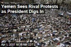 Tens of Thousands in Rival Yemen Protests For, Against President Ali Abdullah Saleh