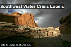 Southwest Water Crisis Looms