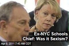 Ex-New York City Schools Chancellor Cathie Black Wonders if Sexism Brought Her Downfall