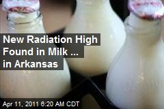 Radiation Tests of US Milk Hit New High